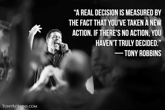 cita de Anthony Robbins