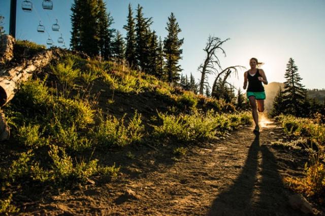correr por montaña