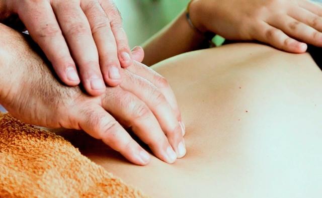 Los masajes